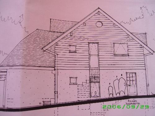 Les plans exterieurs de notre maison..