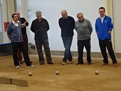 Très belle journée au 90 du Club boule amicale Villeneuve de Berg du 17 mars 2018
