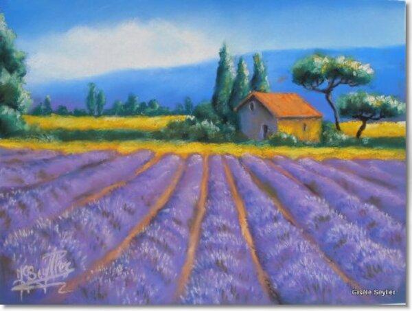 Peinture de : Gisèle Seyller
