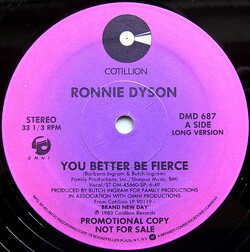 Ronnie Dyson - You Better Be Fierce