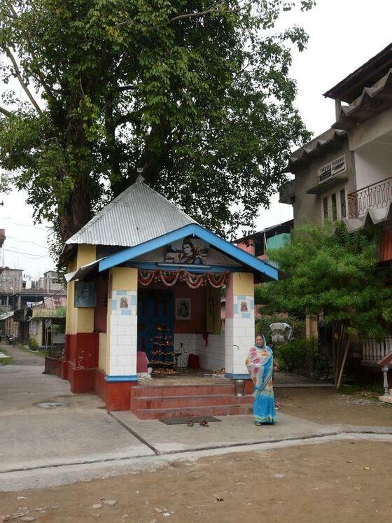 un petit temple modeste mais très utile;
