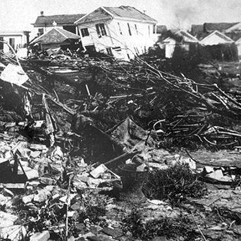 le 8 septembre 1900 se produitla plus grande catastrophe naturelle des