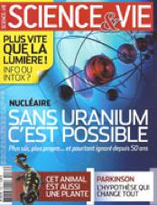 Novembre 2011 - Magazine Sciences & Vie / actu