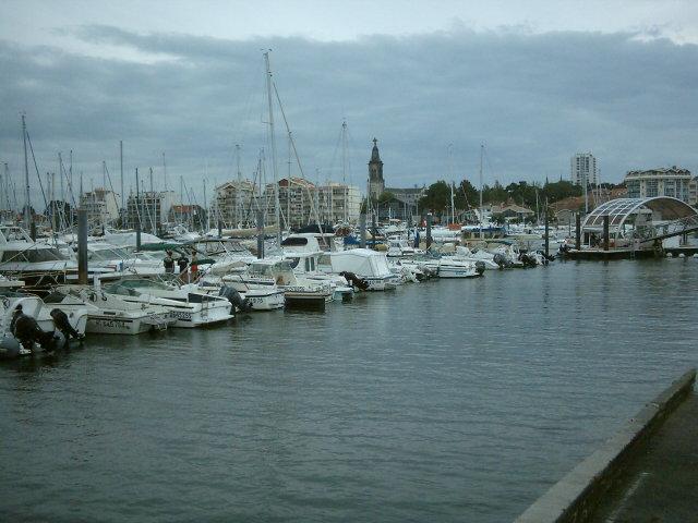 Carte de France des Paysages (Arcachon)Gironde