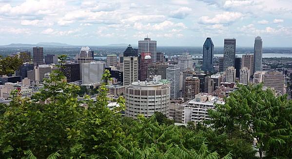 Montréal vu de Mont-Royal