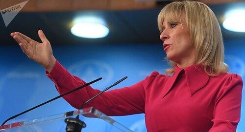 ⇒Maria Zakharova révèle qui est le «principal producteur de fausses informations en France»