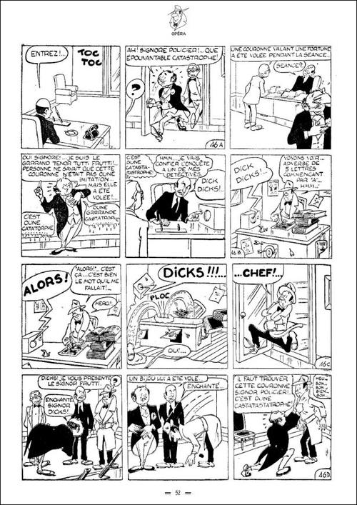 Dick Dicks détective