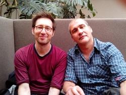 Christian Desmares et Franck Ekinci