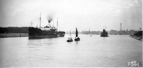 Navires et Paquepots