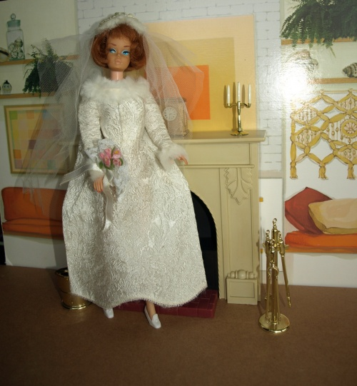 Barbie vintage : Winter Wedding