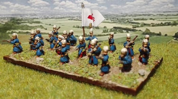 Ottomans 10 mm (suite de l'armée)
