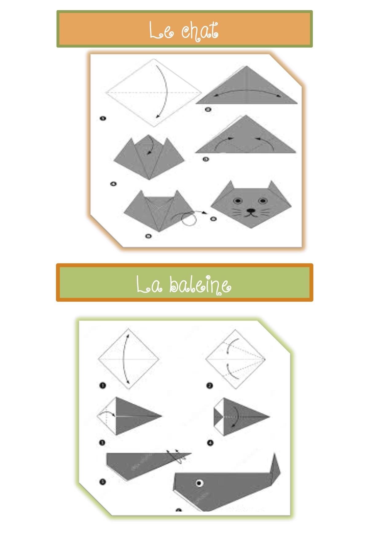 Modeles D Origami Pour Gs La Classe De Luccia