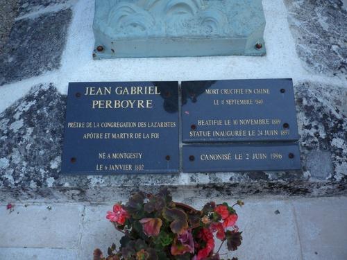 Statue de saint jean Gabriel Perboyre