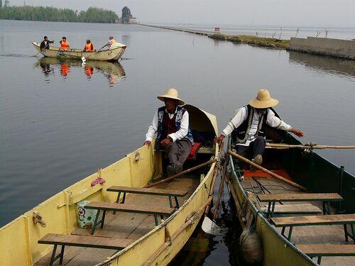 portrait de pêcheurs