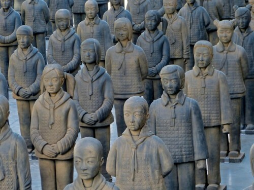 Prune Nourry Terracotta daughters 104 0