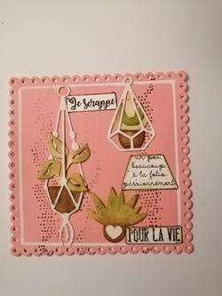 Scrapbooking -  Planète scrapcopines -Loveandscrap et Rétrospective du mois Avril -