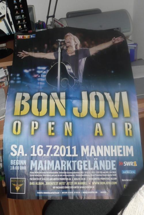 toutes les affiches de concert de bonjovi