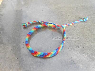 Bracelet Brésilien Modèle Rayure (3)