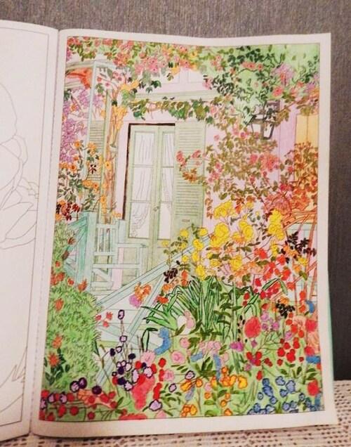 Un coloriage terminé