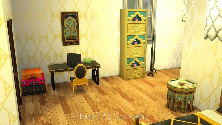 Sims 4 : Le grand hôtel Spa Hibiscus part 2