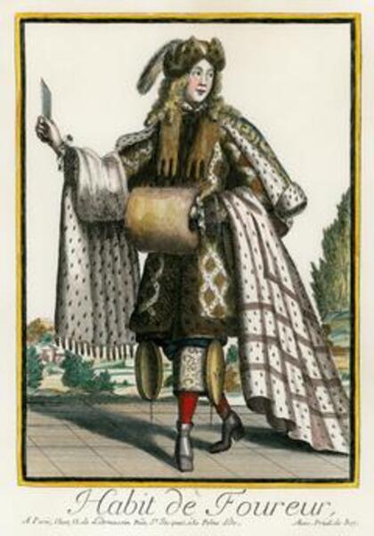 Costumes grotesques et métiers  en couleur II