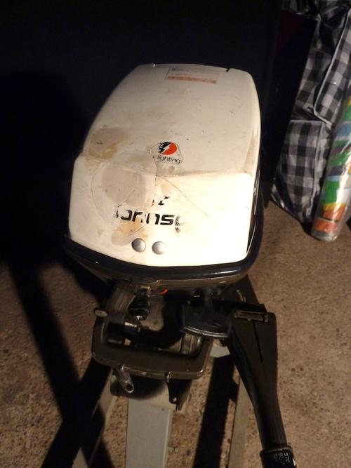 Vds moteur Johnson 6cv