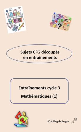 Préparation au CFG