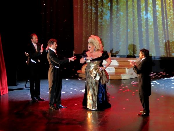 """La flamboyante """"Miss Carpenter- Marianne James"""" a enthousisiasmé les spectateurs du TGB !"""