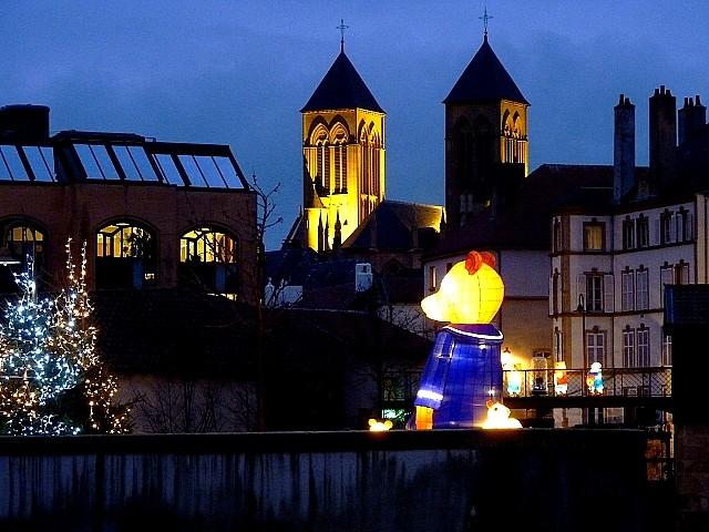 Le sentier des lanternes à Metz 7 Marc de Metz 09 12 2012