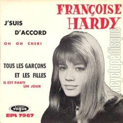 Françoise Hardy, son premier 45 tours