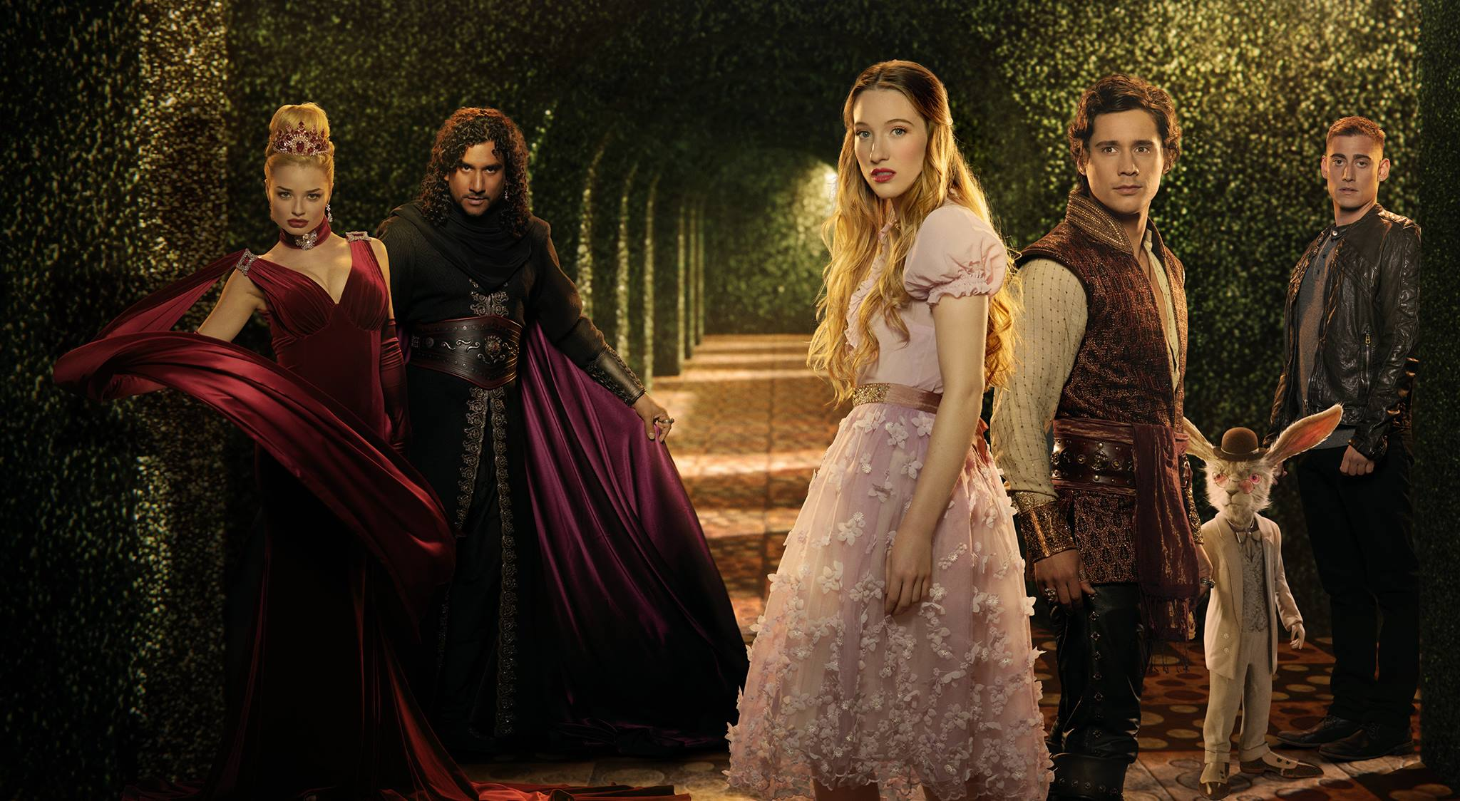 1ere impression • Once upon a time Wonderland - 1ep (série US)