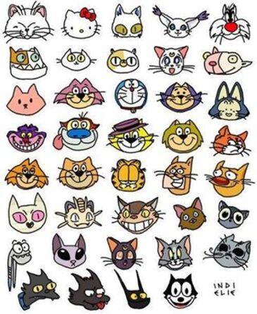 têtes de chats ! chat alors