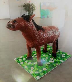 Créations artistiques - les Artistes en herbe- le pottok