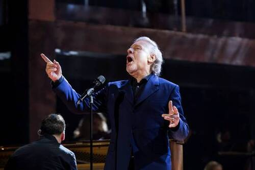 Colm Wilkinson singing One