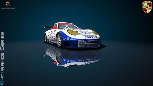 Team Alex Job Racing Porsche 996RSR 2005