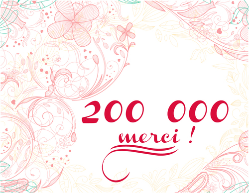 200 000 mercis !!!