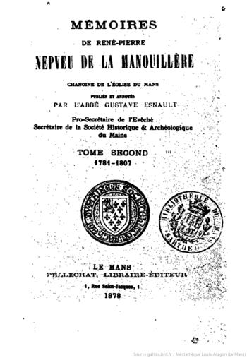 abbé nepveu de la manouillère