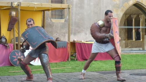Combat de gladiateurs (18 septembre 2010)