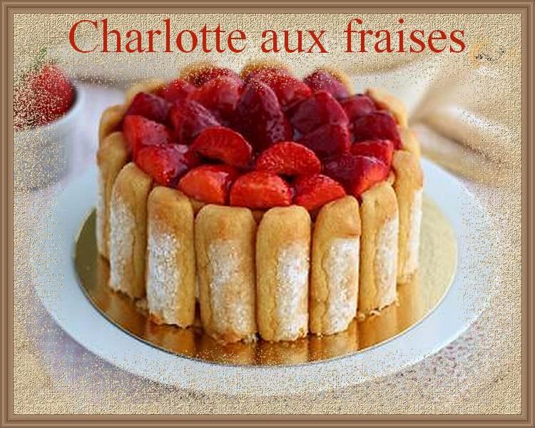 Charlottes aux fraises