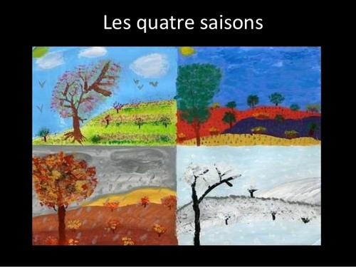 * LES QUATRE SAISONS (poème)