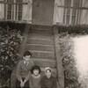 chez mr langlois avec myriam et nièce florence