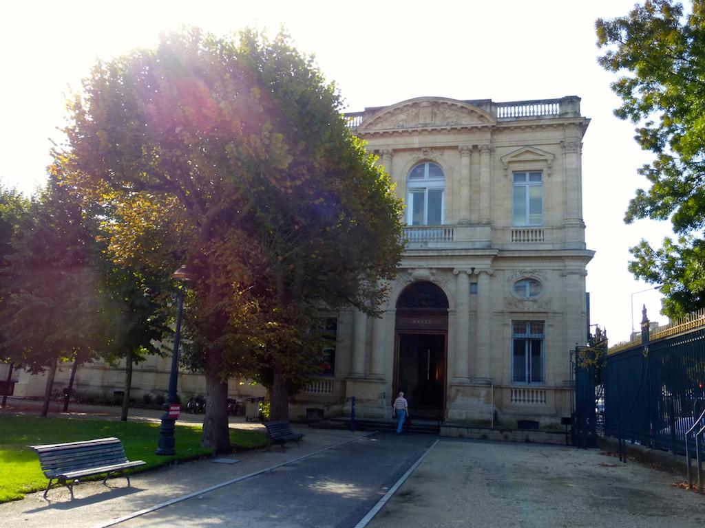 Au Musée de Bordeaux.