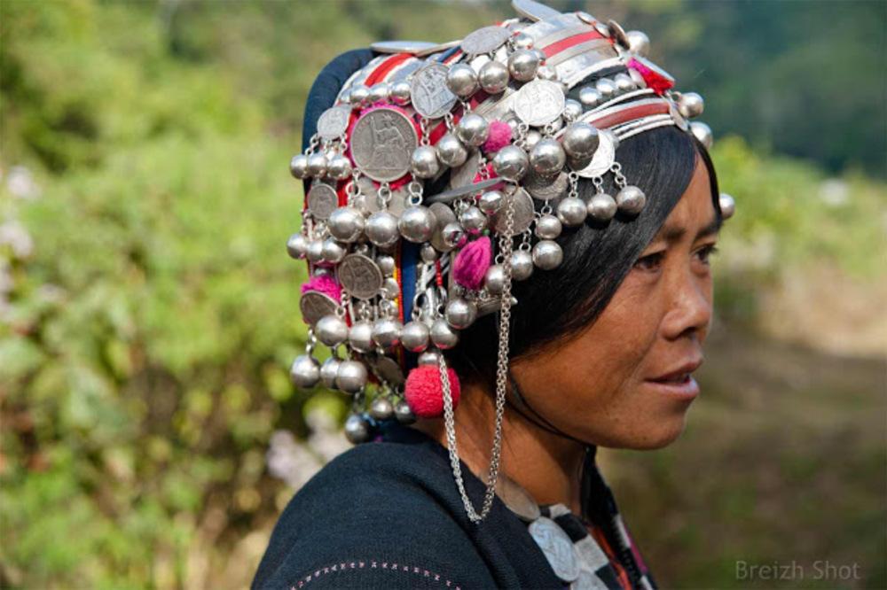 Femme Akha - Muang Sing - Laos