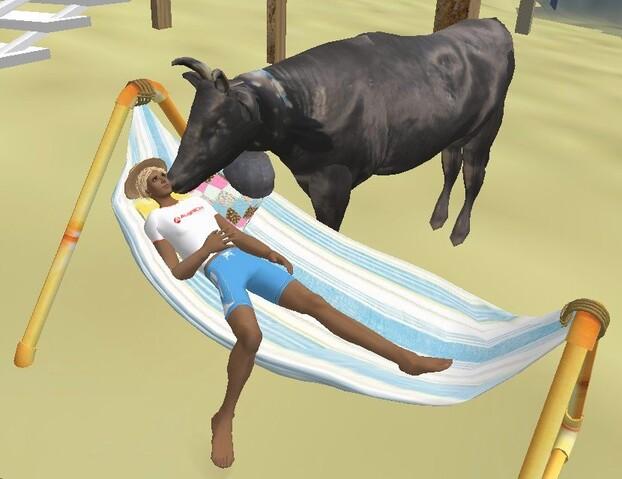 La Vache et le Prisonnier ... en vacances