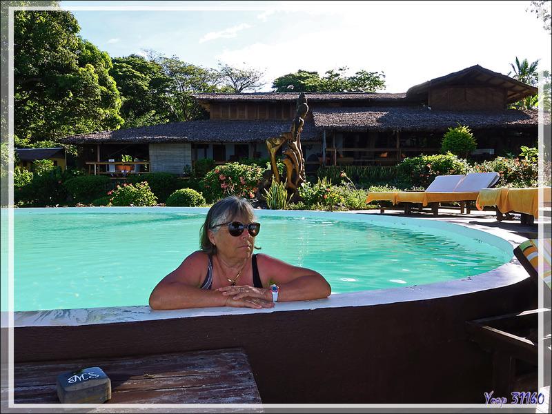Le reste de la journée se passera à profiter du très beau jardin du Manga Soa Lodge - Nosy Be - Madagascar