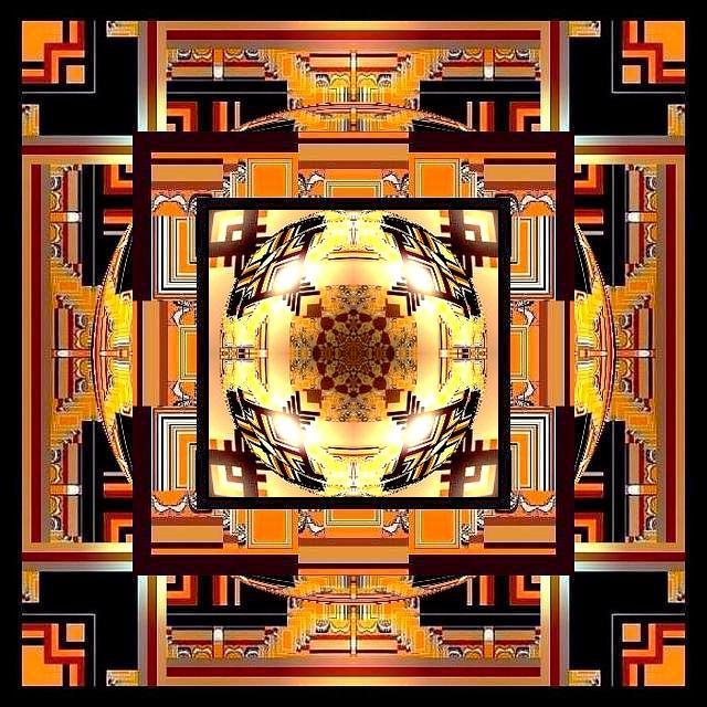Mandala de décembre 2 Marc de Metz 15 12 2012