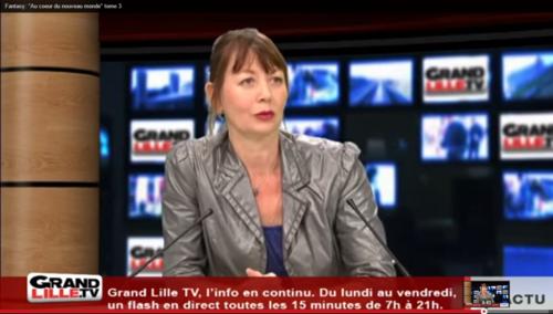 Les photos de l'interview à Grand Lille TV