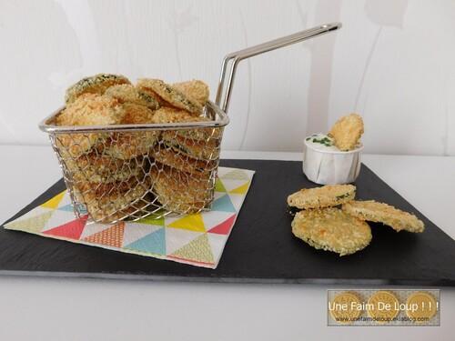 Chips de courgettes au parmesan et herbes de Provence (cuisson au four)