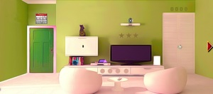 Jouer à Bonny green room escape