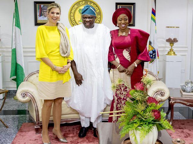 Avec le gouverneur